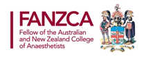 fellow of the australian new zealand college of anaesthetists